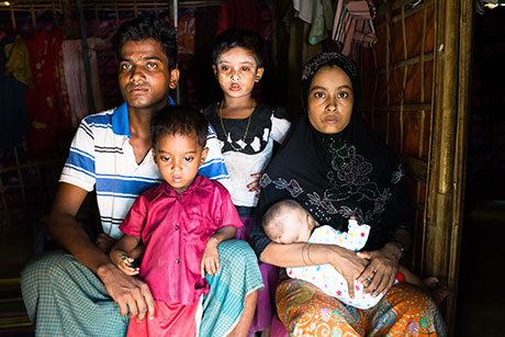 Rohingya women subjected to sexual violence