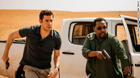 John Krasinski, Wendell Pierce in 'Tom Clancy's Jack Ryan'