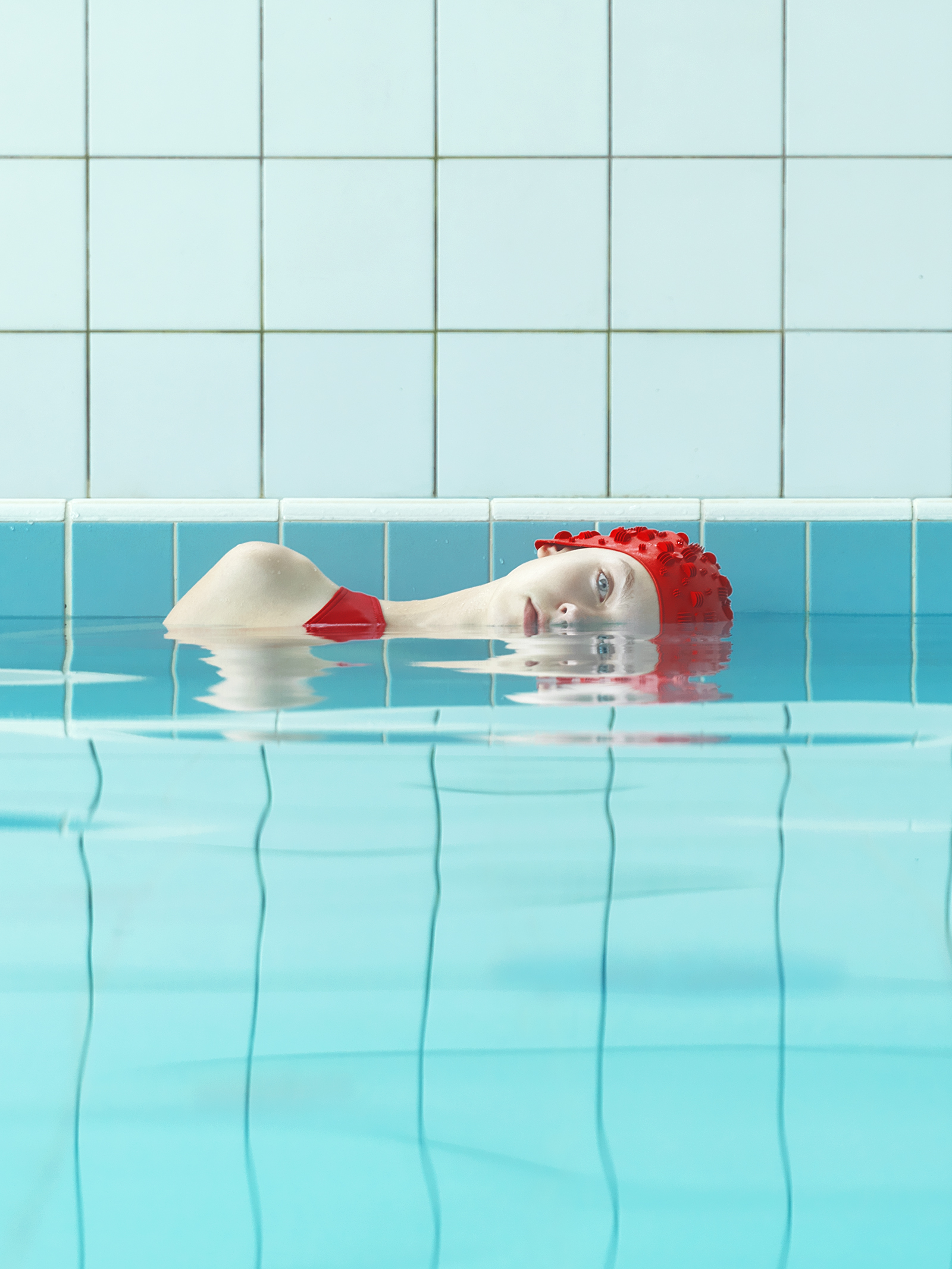 Maria Švarbová finds beauty and serenity in swimming pools - CNN Style