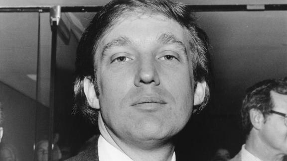 In 1979, Trump attends an event to mark the start of construction of the New York Convention Center.