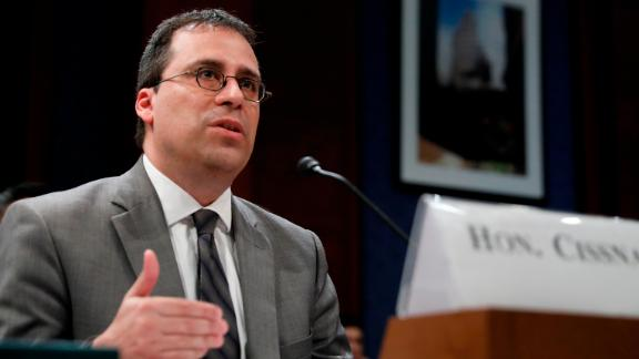 Lee Francis Cissna, director of U.S. Customs and Immigration Services, testifies before the House Homeland Security Committee's Border and Marine Security subcommittee on Capitol Hill on May 22, 2018 in Washington, DC. ( Aaron P. Bernstein/Getty Images)