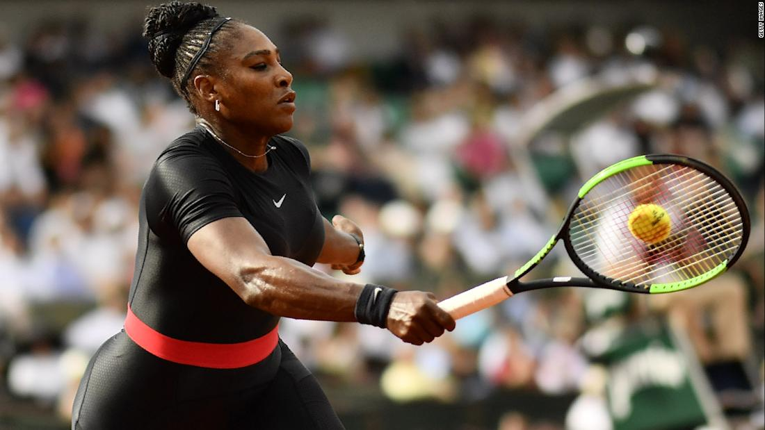Serena Williams is being policed for her blackness