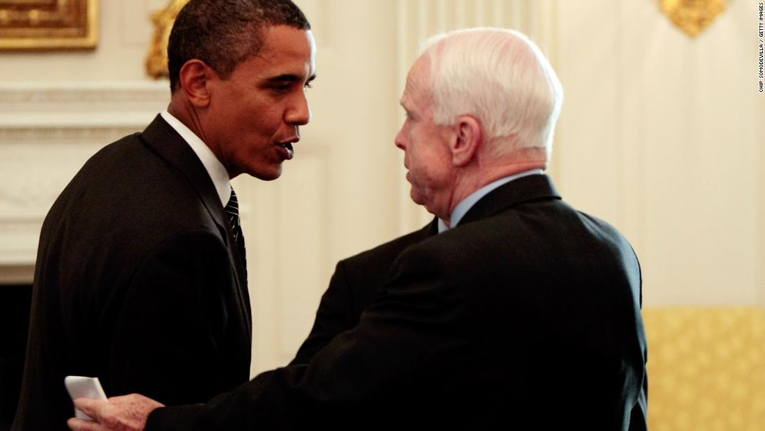Inside McCain's surprise eulogy invitation to Obama