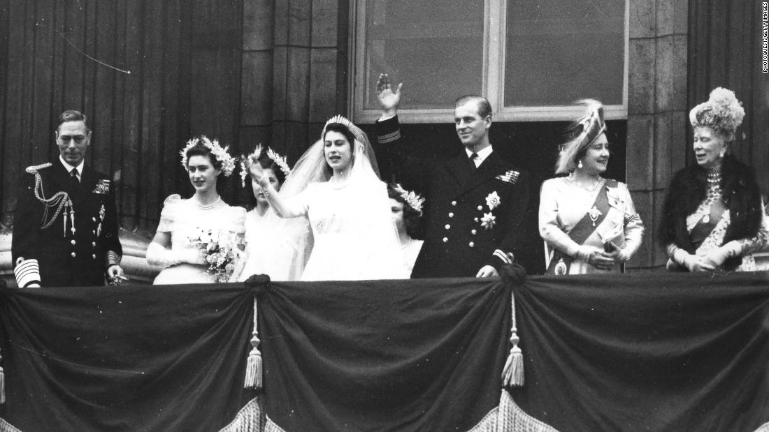 On November 20, 1947, Elizabeth wed Prince Philip, a lieutenant in the British Navy who had been born into the royal families of Greece and Denmark. After becoming a British citizen and renouncing his Greek title, Philip became His Royal Highness Prince Philip, Duke of Edinburgh. His wife became the Duchess of Edinburgh.