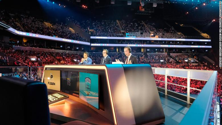 The 2018 Overwatch League Grand Finals were held at the Barclays Center in New York City.