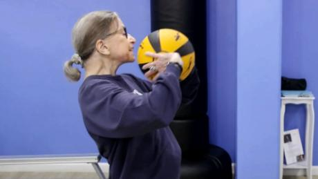 175417ea How Ruth Bader Ginsburg stays in shape - CNN Video