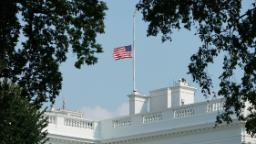 Why hasn't Donald Trump ordered flags to fly at half-staff to honor coronavirus victims?