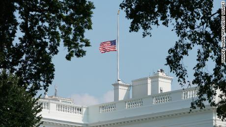 Donald Trump has finally ordered flags to fly at half-staff to honor coronavirus victims