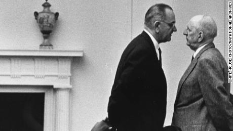 Richard B. Russell faces off with mentee, Senate colleague and eventual foe, Lyndon B. Johnson.