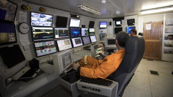 The crawler is remote-controlled and allows for the ship to mine much faster.