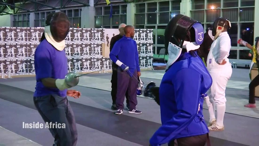 Fencing Is Growing In Popularity Throughout Africa Cnn Video