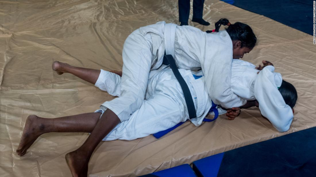 Goud has been among the star judoka turns among the initial group of 200 women.