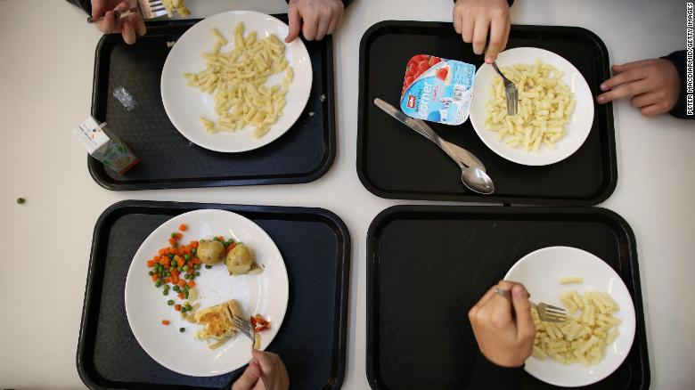 Breakfasts and lunches in New York public schools will be all-vegetarian every Monday starting this fall.