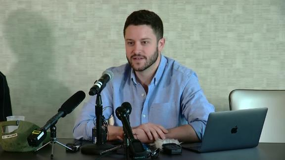 Cody Wilson, founder of Defense Distributed, is selling blueprints of 3D-printed guns despite a federal court order, he said on Tuesday, August 28, 2018.