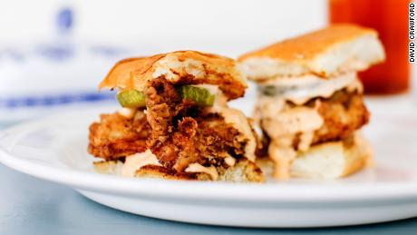 Brands talk about who has the best chicken sandwich and it's porridge