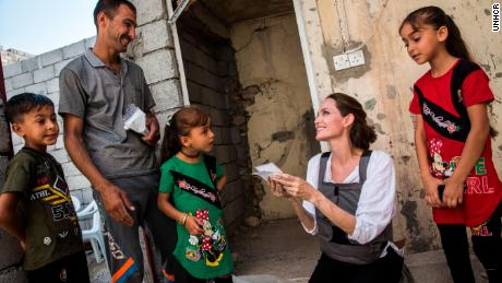 Angelina Jolie: A tale of two refugee girls