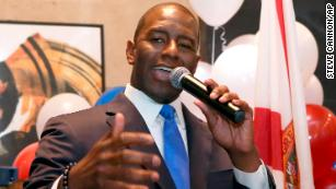 Florida gubernatorial candidate Andrew Gillum calls racist robocall targeting him 'deeply regrettable'