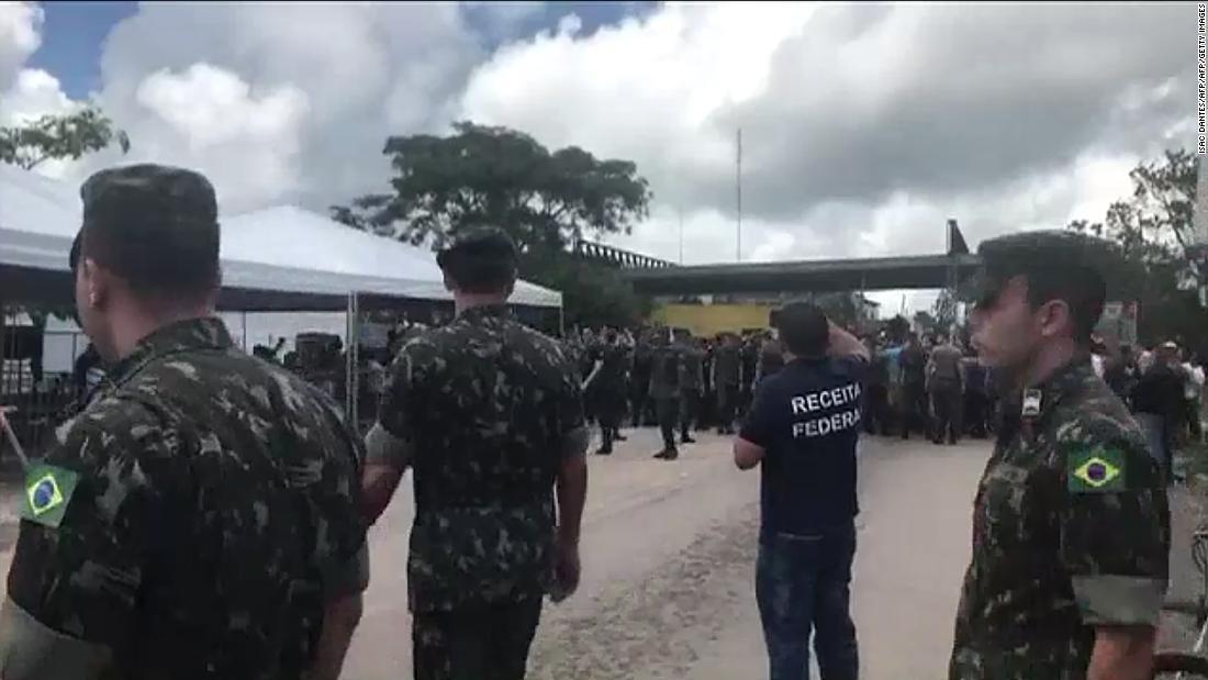 Brazil sends troops to Venezuela border as migrant crisis worsens