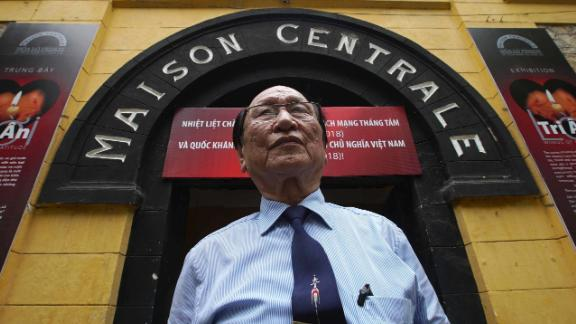Tran Trong Duyet, 85, former Director of the Hoa Lo Prison, otherwise known as the 'Hanoi Hilton', where John McCain was held as a prisoner of war.