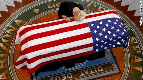 The nation honors Sen. John McCain