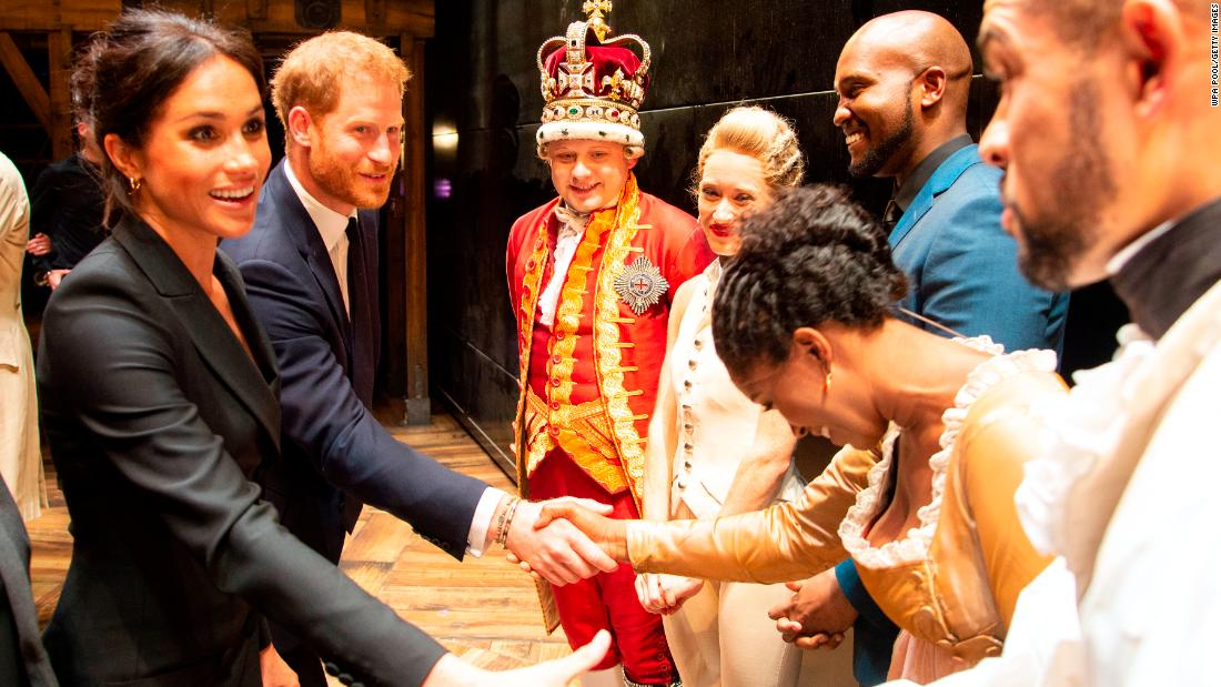 Meghan Markle Harry >> Prince Harry wows crowds by singing at 'Hamilton' - CNN