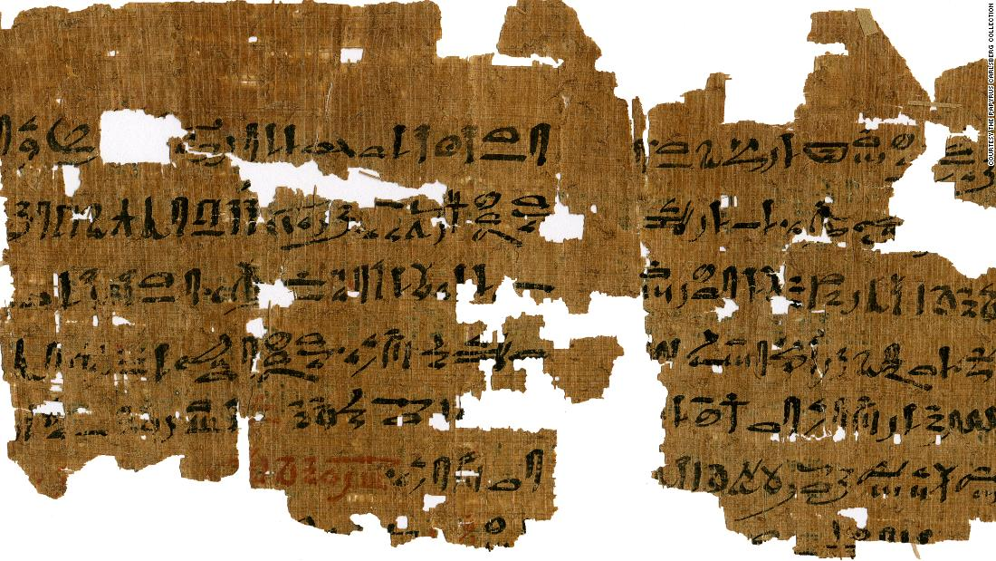 An Egyptian papyrus, from between 1500 and 1300 BC, offers a method for diagnosing pregnancy. It advises women to pee into a bag of barley and a bag of wheat. The papyrus is one of many currently being translated by an international team of researchers at the University of Copenhagen.  <br />Flip through the gallery to see more intriguing archaeological finds.