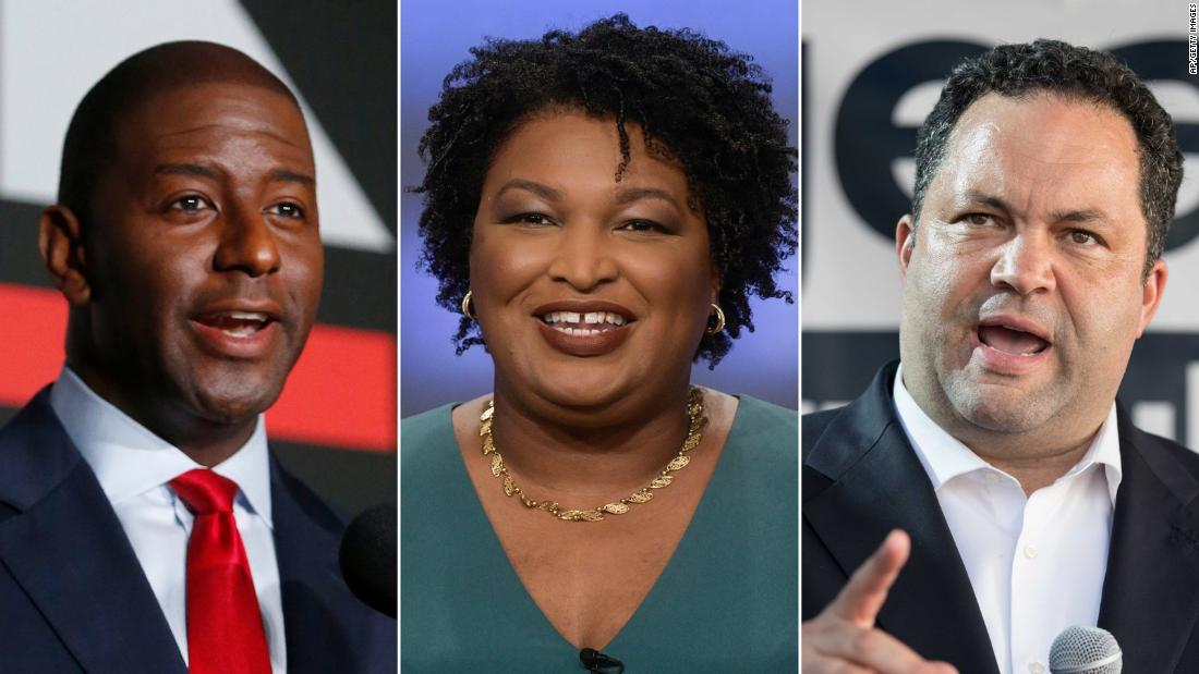 History-making runs turn black governor nominees into stars