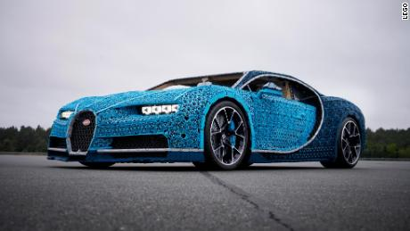 see this life-size bugatti made of legos - cnn video