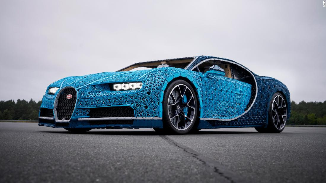 see this life size bugatti made of legos cnn video. Black Bedroom Furniture Sets. Home Design Ideas