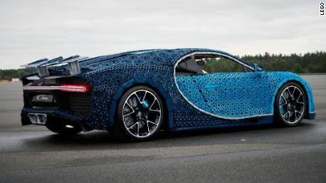 This Life Size Drivable Bugatti Is Made Out Of 1 Million Legos Cnn