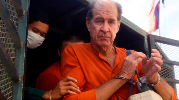 James Ricketson was accused of endangering national security by flying a drone over an opposition party rally last year.