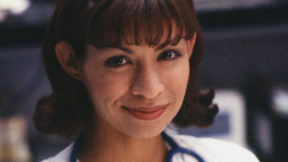 "Vanessa Marquez as Nurse Wendy Goldman on ""ER."""