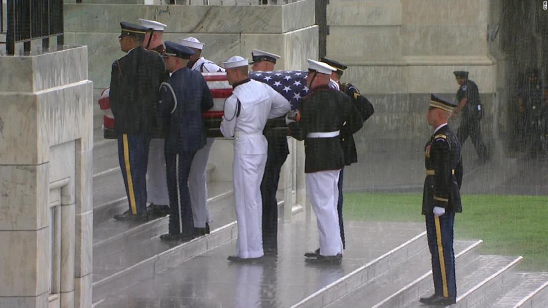 McCain didn't want Trump at funeral service - CNN Video
