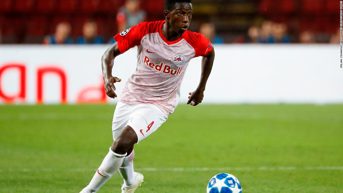 Europa League Red Bull Teams Rb Leipzig And Red Bull Salzburg Pitted Against Each Other Cnn