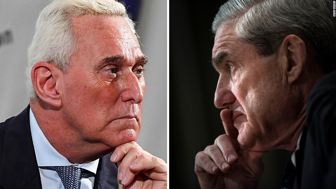 Mueller defends Stone prosecution and says 'his conviction stands' in Washington Post op-ed