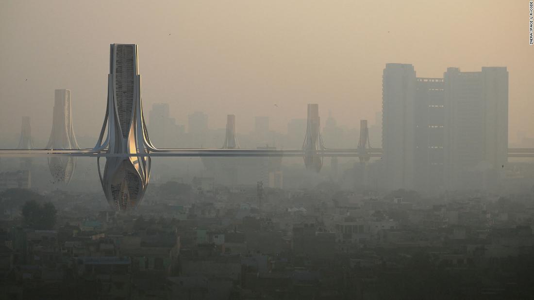 Dubai architect's smog solution nominated for award