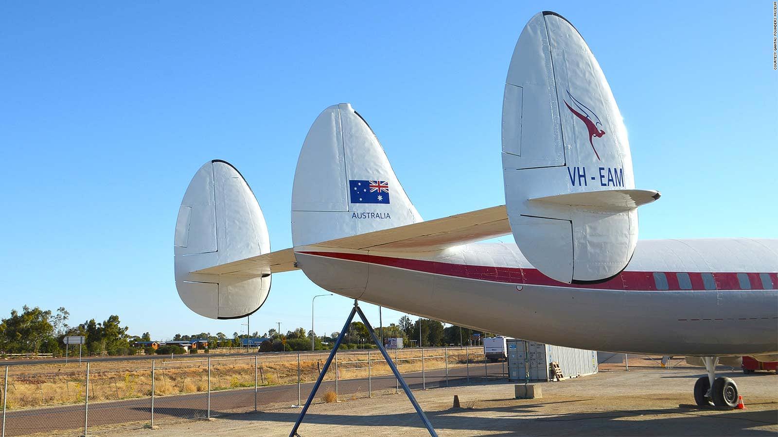 Qantas Super Constellation airliner from 1950s is restored | CNN Travel