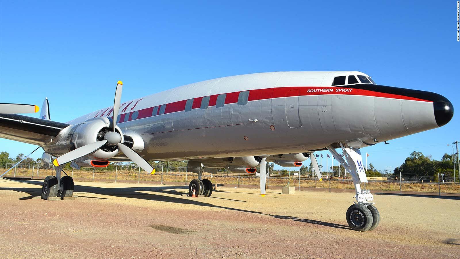 Qantas Super Constellation airliner from 1950s is restored   CNN Travel