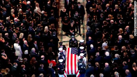 The Nation Honors Senator John McCain