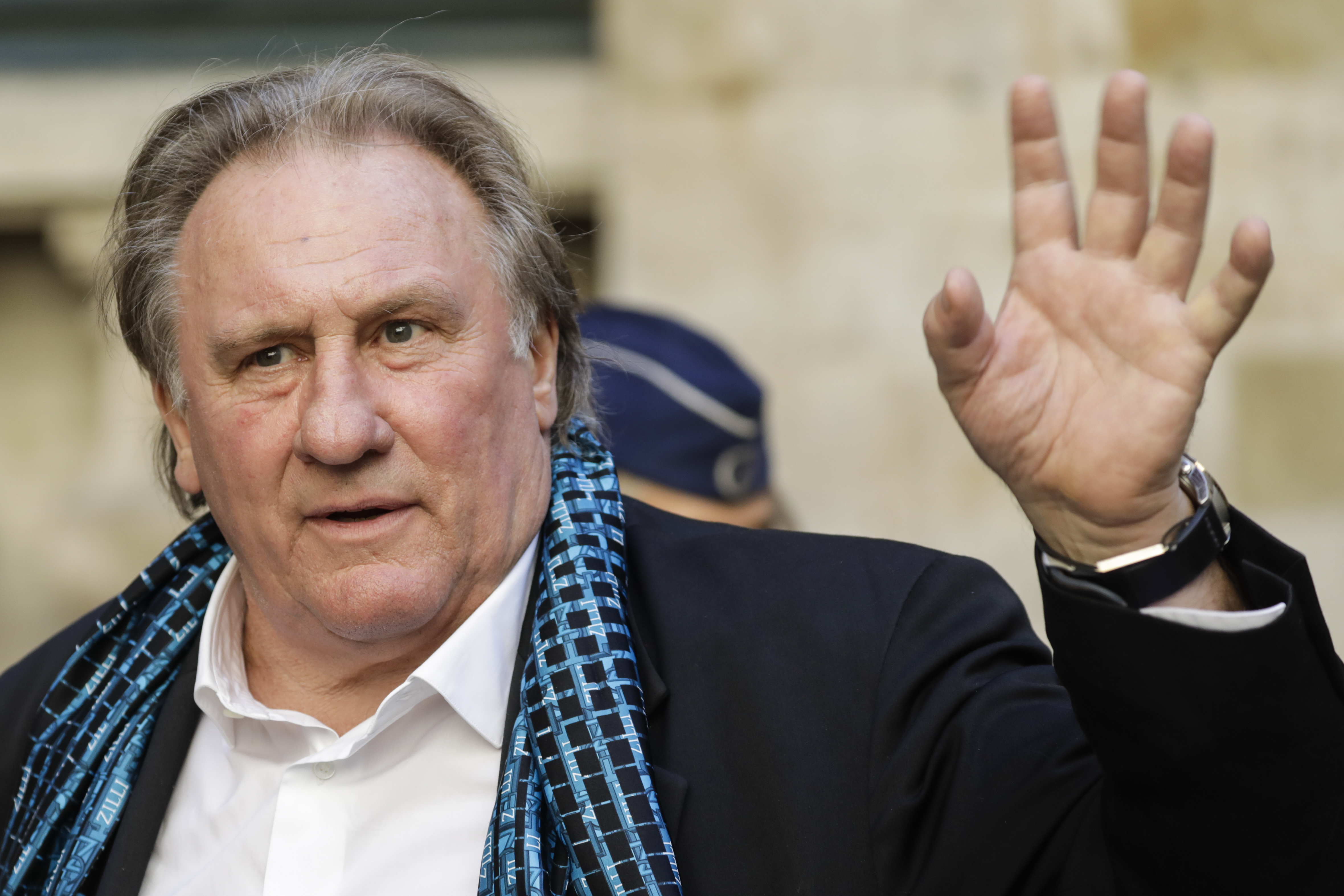 Gerard Depardieu was sentenced to a fine for drunk driving 09.04.2014 43