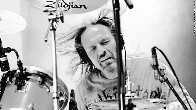 Drummer Mike Kennedy died in a car accident Thursday in Lebanon, Tennessee.