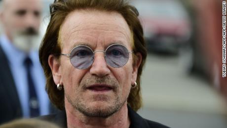 Bono in Berlin 28th August