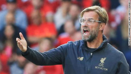Liverpool tops the EPL on goal difference after a 100% start to the season
