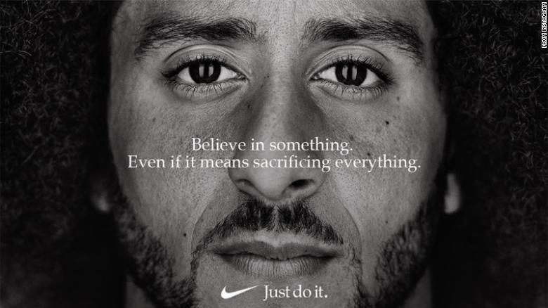 af5421b3dff How National Anthem protests took Colin Kaepernick from star QB to  unemployment to a bold Nike ad