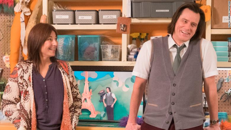 Catherine Keener, Jim Carrey in 'Kidding'