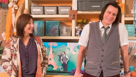 Catherine Keener, Jim Carrey in 'Kidding'