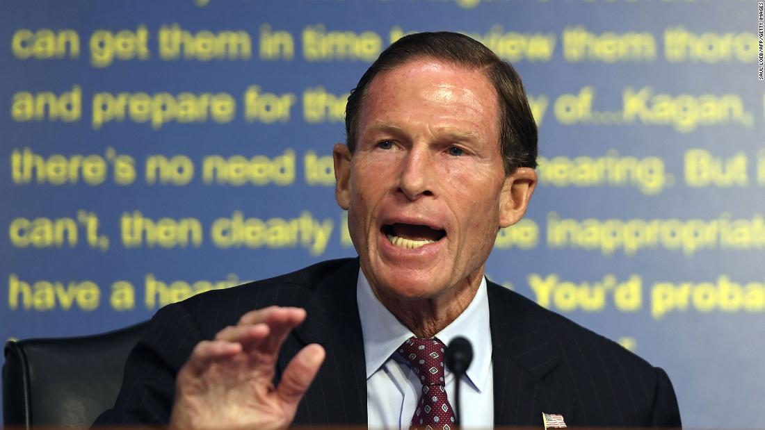 Richard Blumenthal: Trump firing Sessions is a 'break the glass moment'