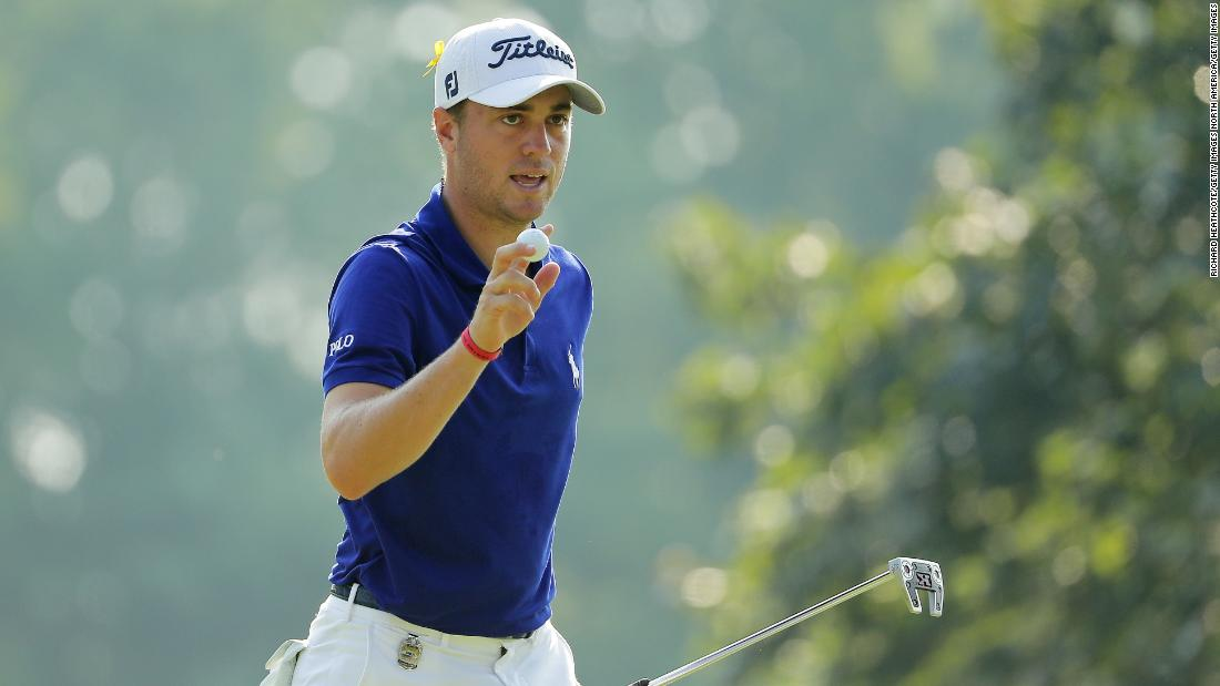 1817e122eca77 World No. 3 lt strong gt  Justin Thomas lt  strong gt