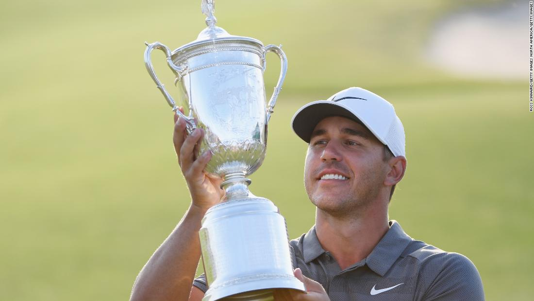 <strong>Brooks Koepka</strong> topped the US Ryder Cup rankings with his major victories in the US Open in June and US PGA in August. The 28-year-old, ranked second in the world, made his Ryder Cup debut in the victory at Hazeltine in 2016, winning three of his four matches.