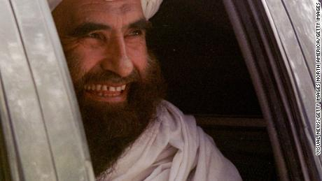 Jalaluddin Haqqani seen in a 2001 photograph in Islamabad, Pakistan.